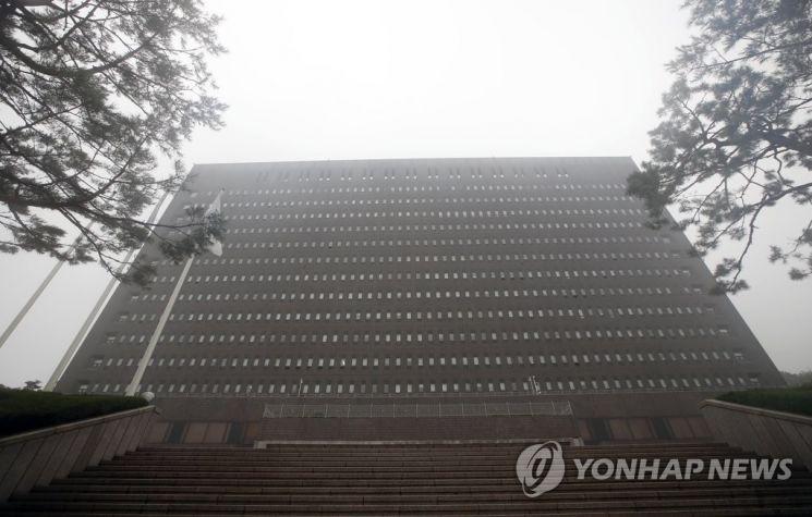 서울 서초동 서울중앙지검.