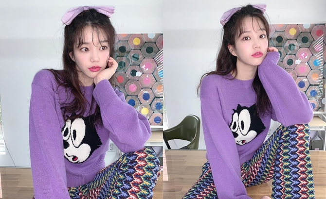 배우 이유비. 사진=이유비 인스타그램