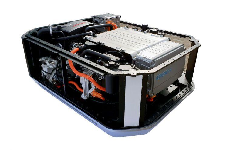 현대자동차가 GRZ 및 유럽 에너지 솔루션 스타트업에 수출한 넥쏘 수소연료전지 시스템.