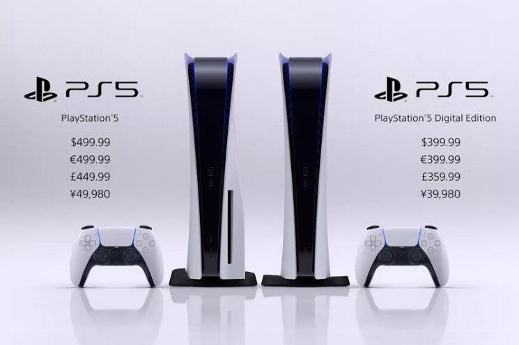 소니, 11월12일 'PS5' 출시…가격은 499달러