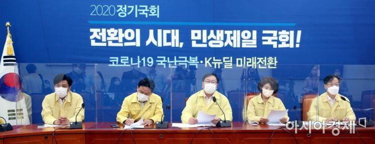 [포토] 민주당, 정책조정회의