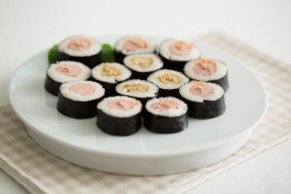 두가지 맛 김밥