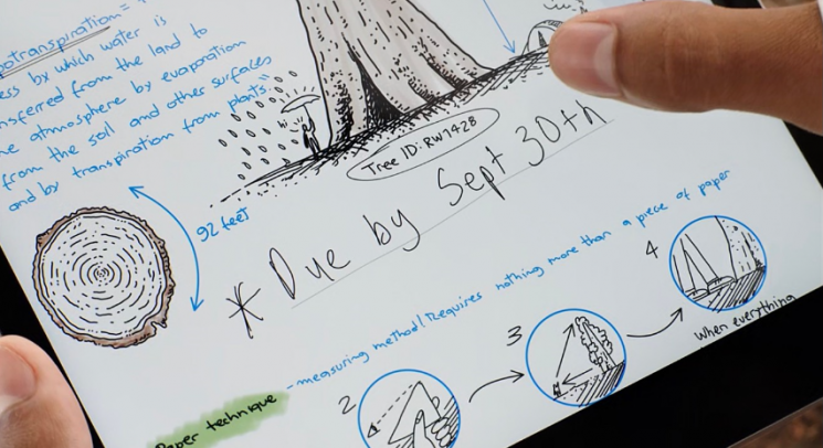 애플 9월15일 스페셜 이벤트에서 아이패드 8세대 영상에 등장한 '9월30일' 메모