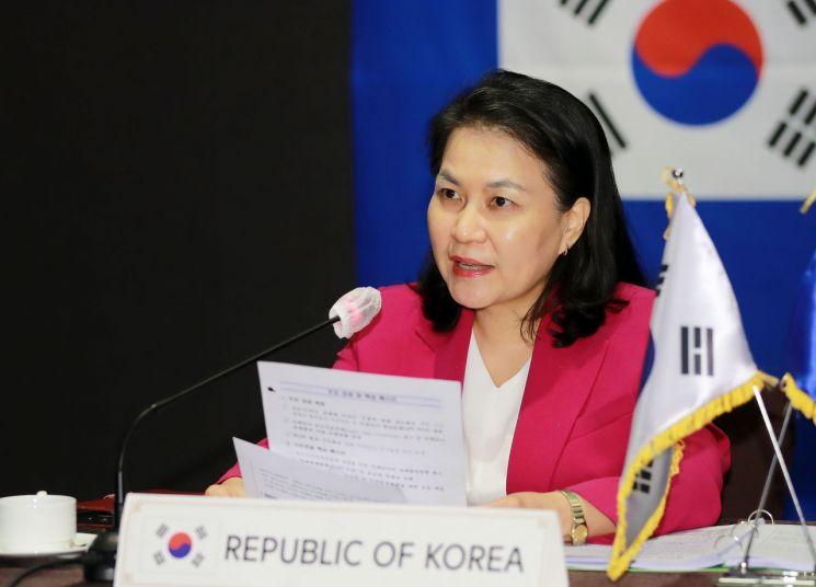 유명희 산업통상자원부 통상교섭본부장.(이미지 출처=연합뉴스)
