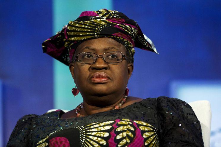 나이지리아의  응고지 오콘조-이웰라 전 재무장관. WTO 사무총장 선거 초반부터 강력한 당선 후보로 꼽혀온 인물이다.(이미지 출처=로이터연합뉴스)