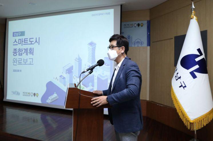 강남구 '강남봇' '자동개폐 그늘막' 등 2022년 상용화