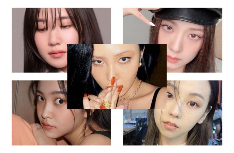 박은빈, 지수, 화사, 예리, 안소희. 사진=각 인스타그램