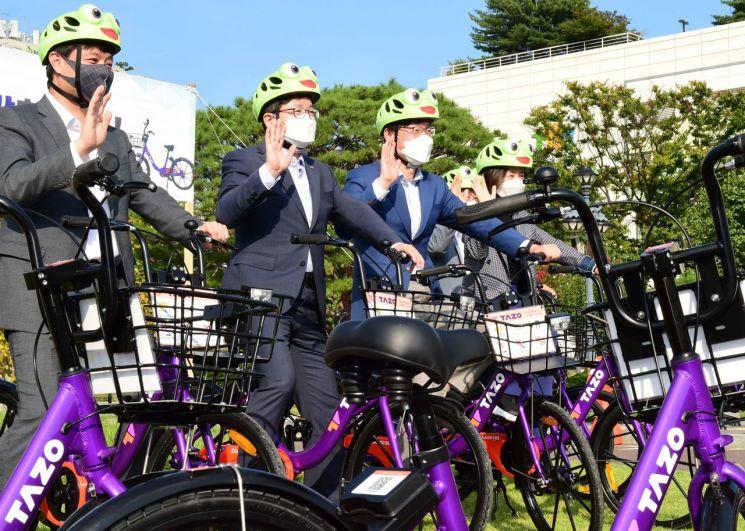 수원시, 28일부터 무인대여 자전거 서비스 '재개'