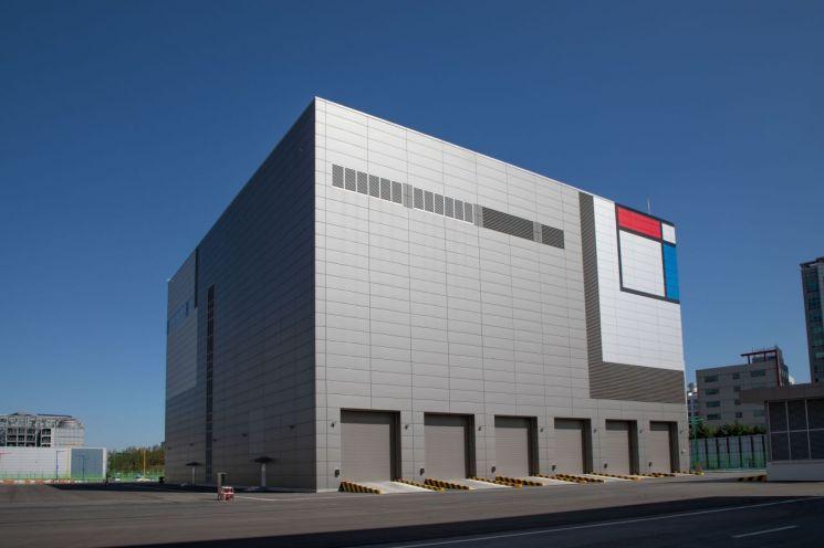 삼성전자 화성캠퍼스에 위치한 그린센터 전경
