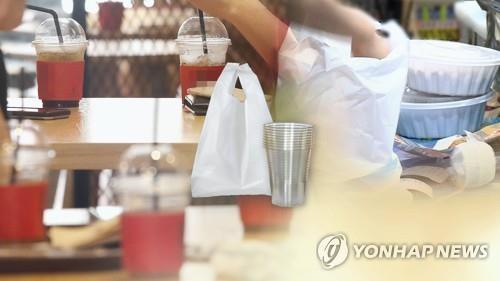 플라스틱 일회용품 자료화면/사진=연합뉴스