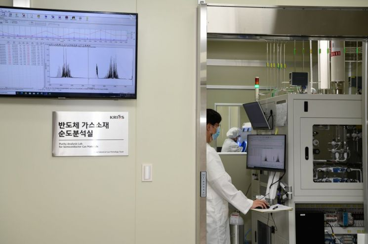 한국산 '불화수소' 품질평가.. 일본 '독점' 깬다