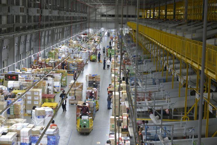 [포토] 추석연휴 소포택배 약 1700만톤