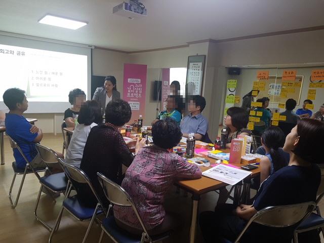 2019년 같이살림 프로젝트 주민참여 회의