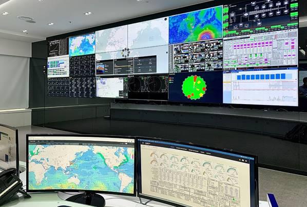 HMM, 국내 첫 '선박종합상황실' 개소…전세계 스마트船 모니터링
