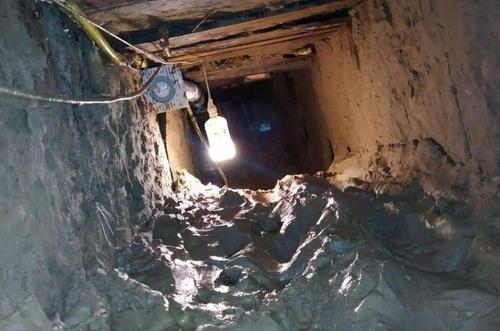 러시아 다게스탄 공화국 교도소 수감자들이 탈옥에 이용한 땅굴. 사진=현지 언론 '360tv' 화면 캡처.