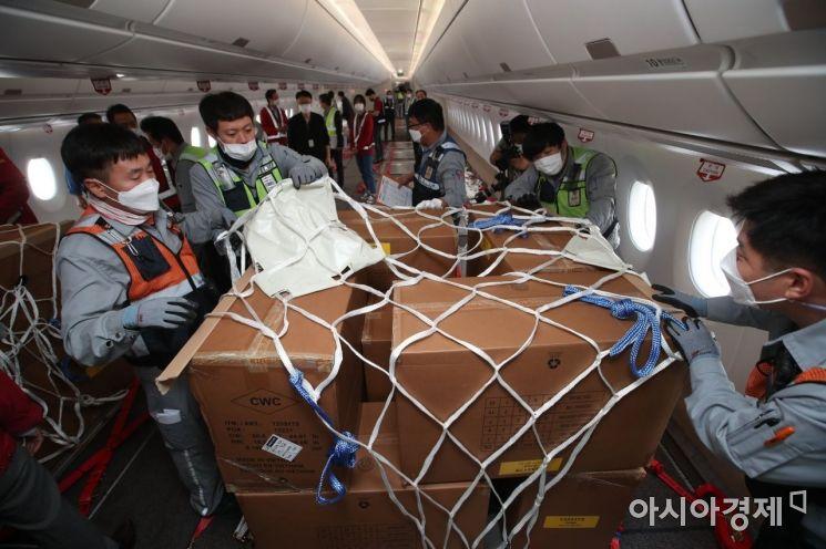 [포토]아시아나항공, 세계 최초 A350 화물기 개조