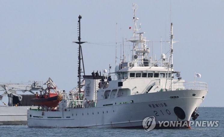 북한서 피격 사망 공무원이 탑승했던 어업지도선  [사진=연합뉴스]