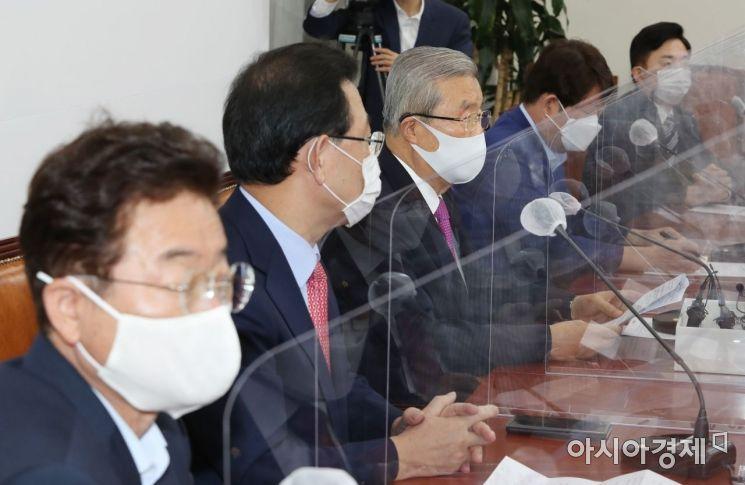 [포토] 발언하는 김종인 비대위원장