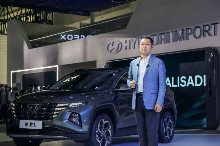 현대차 중국형 아반떼와 신형 투싼 베이징 모터쇼 최초 공개