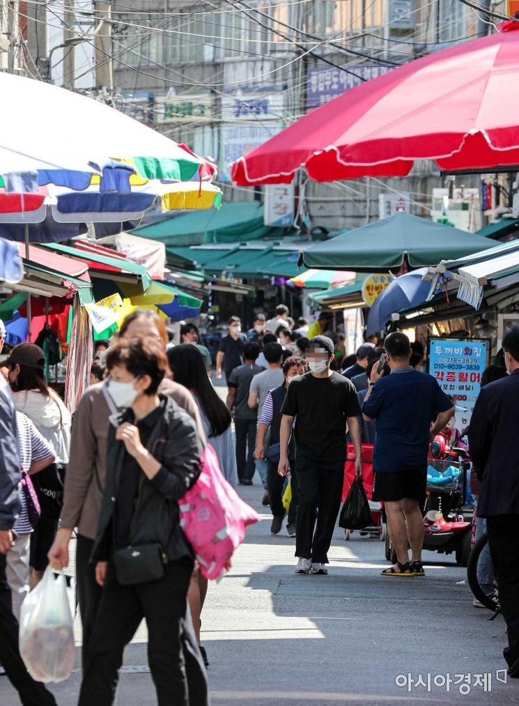 [포토]추석 앞두고 전통시장 찾은 시민들