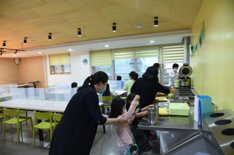 노원구, 전국 최초 '아동식당' 갖춘 방과 후 돌봄센터 개소