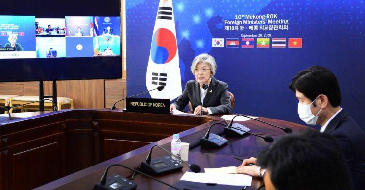 10차 걸친 한-메콩 외교장관 회의 마무리…'전략적 동반자 관계' 격상 논의키로