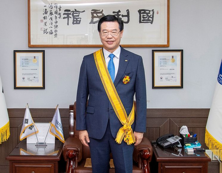 성장현 용산구청장, 세계자유민주연맹 '자유장' 수상