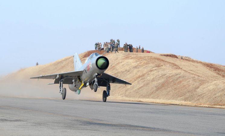 북한 공군이 보유한  MiG-21