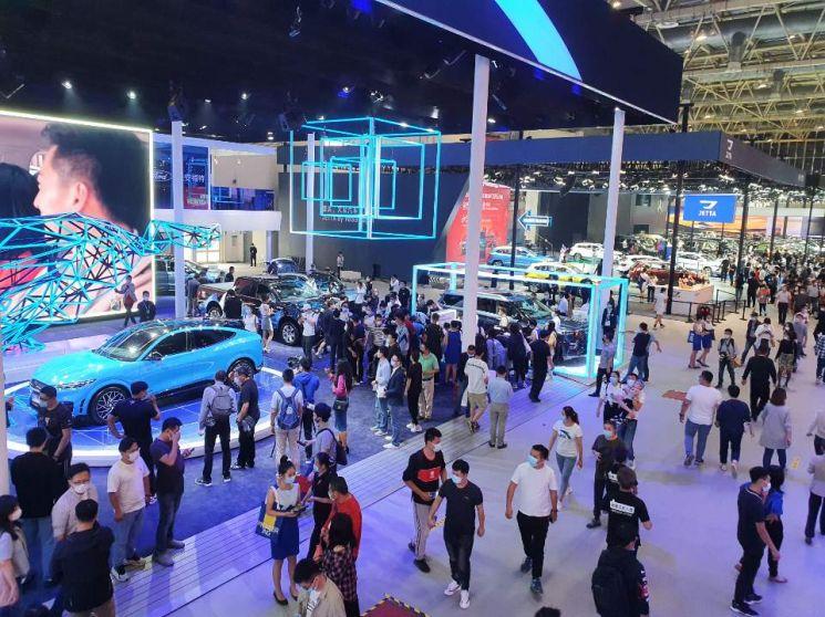 코로나19 확산으로  연기됐던 중국 '2020 베이징 모터쇼'가 10월5일까지 중국 베이징 국제전시센터에서 열린다.