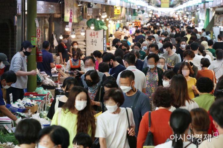 [포토]추석 대목 맞아 붐비는 전통시장