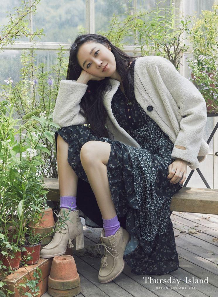 공효진, 사랑스러운 에코퍼 패션