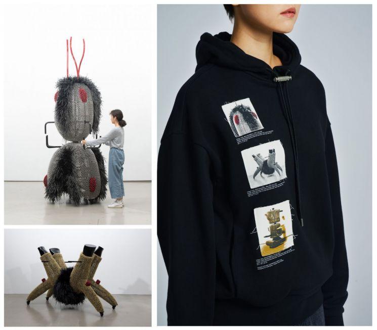 커스텀멜로우, 설치미술가 양혜규 작가와 협업