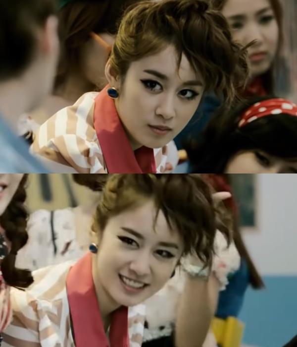 2011년 티아라 복고열풍. 사진=티아라 'Roly-Poly' 뮤비 캡처.