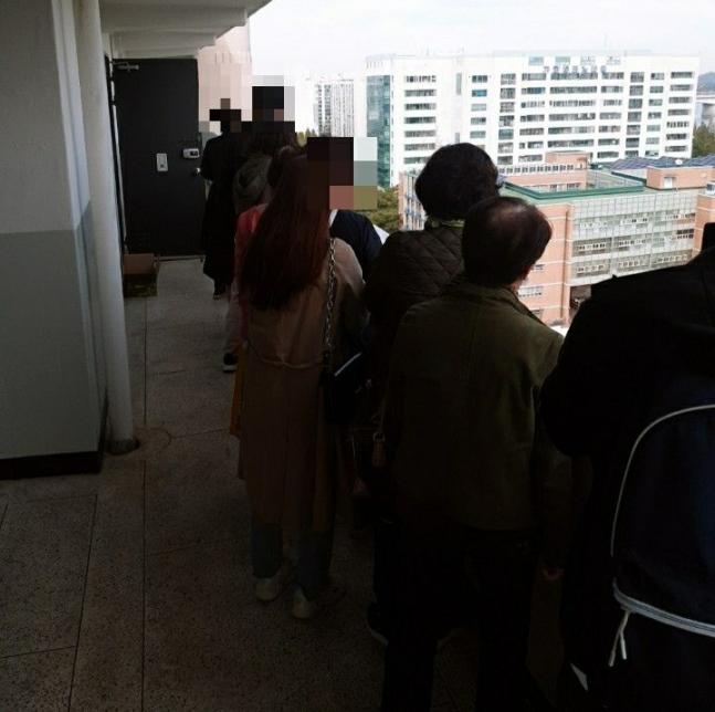 서울 강서구 가양동 한 주공 아파트에서 '세입자 되기' 경쟁이 벌어졌다.(사진=온라인 커뮤니티 캡처)