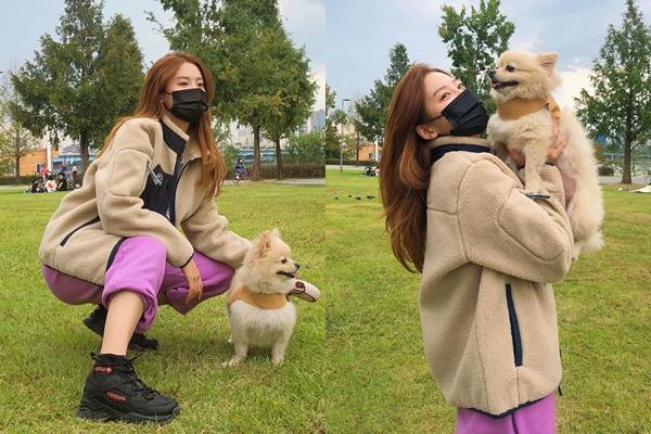 KBS2 월화드라마 '좀비탐정' 출연 중인 배우 박주현. 사진=박주현 인스타그램