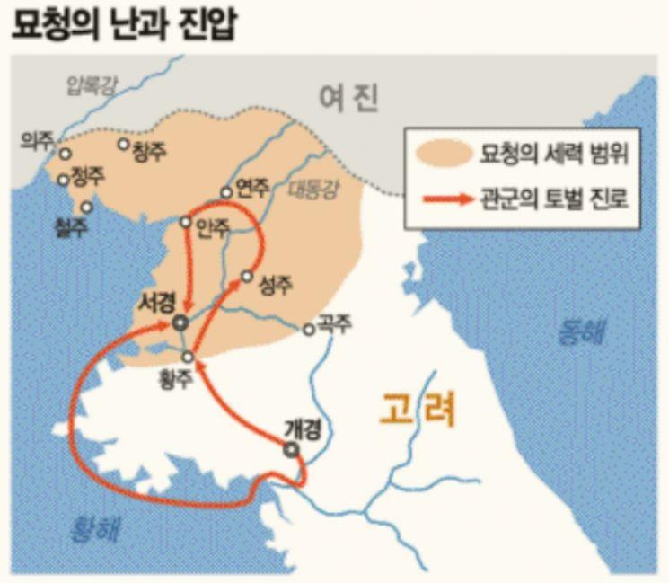 """[이상훈의 한국유사] 서경 반란군 반년 포위한 김부식 """"때가 됐다, 土山을 짓거라"""""""