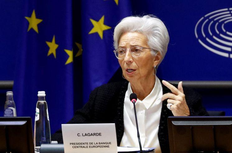 크리스틴 라가르드 유럽중앙은행(ECB) 총재 [이미지출처=로이터연합뉴스]