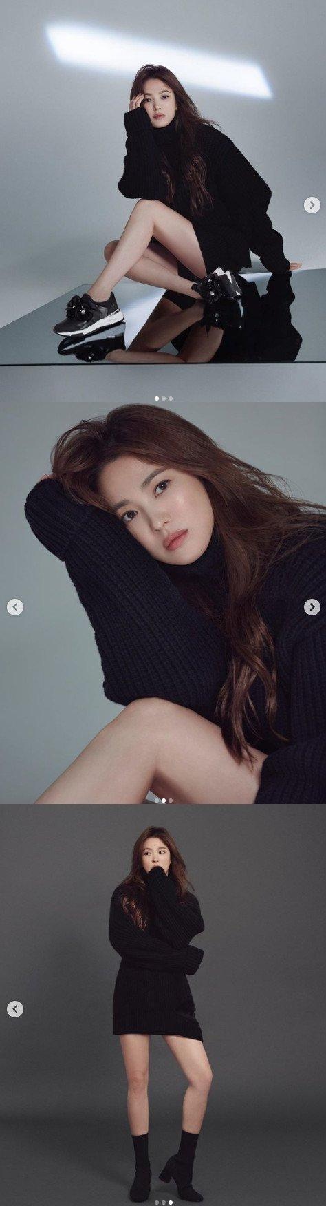 사진=송혜교 인스타그램 캡처.