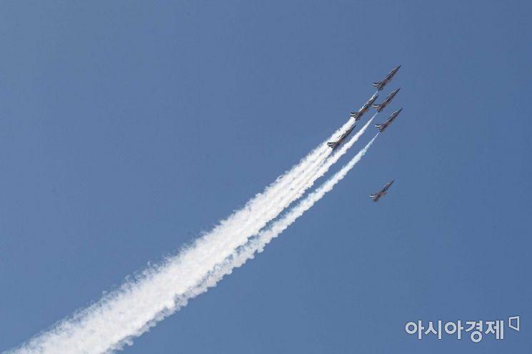 [포토]힘차게 날아오르는 블랙이글스