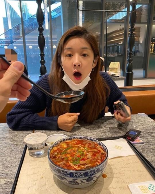 배우 김빈우. 사진=김빈우 인스타그램 캡처.