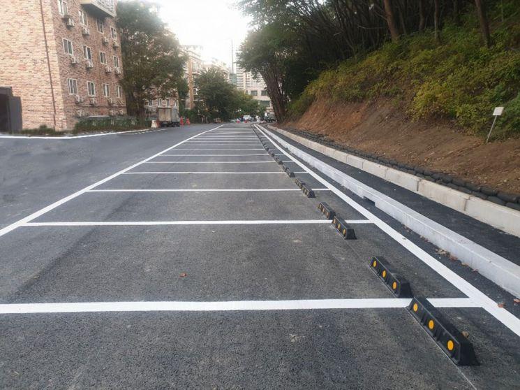 성남시, 궁내동 수도용지에 50면 규모 주차장 조성