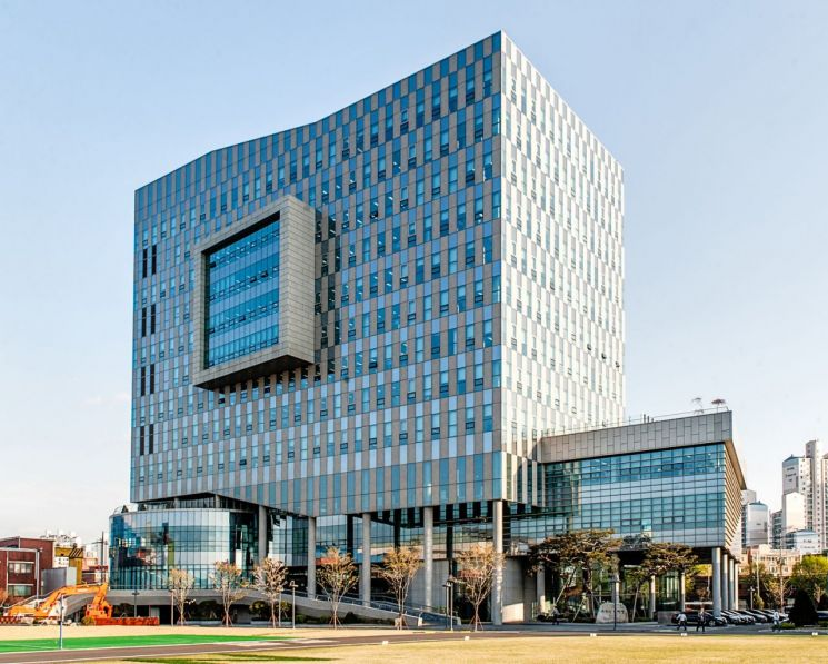 두산인프라코어 글로벌 연구개발(R&D)센터 전경  [사진제공=두산인프라코어]