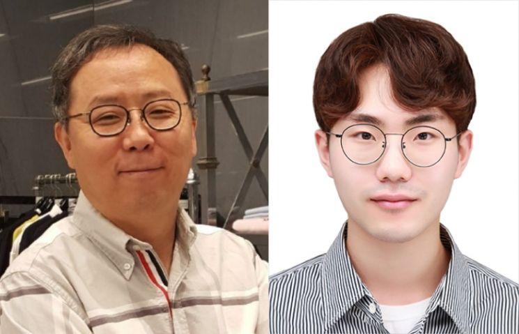 김홍국 교수와 박동건 학생