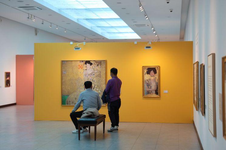 [포토] 구스타프 클림트 展과 함께 무르익어 가는 보성의 가을