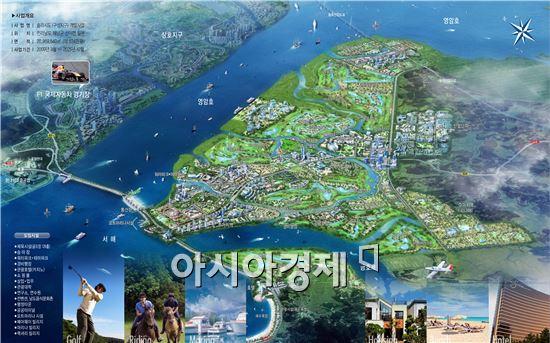 서남해안기업도시 '솔라시도' 개발사업 3300억 PF