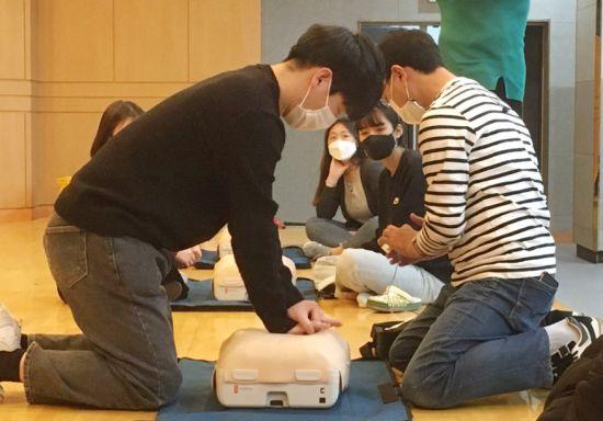 동신대 '심폐소생술 수료 과정' 운영