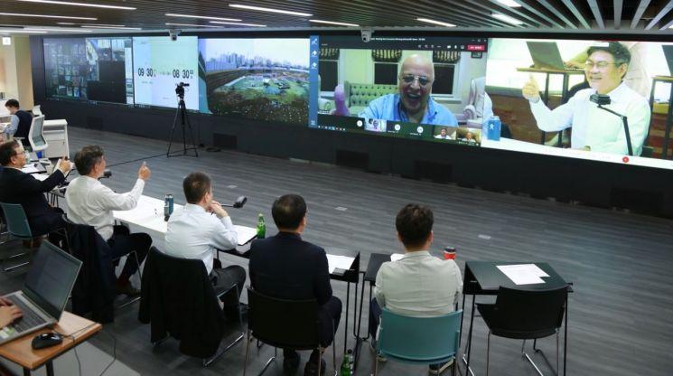 SK건설, 실시간 건설현장 안전관리 가능한 통신 플랫폼 만든다