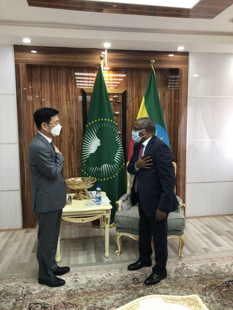 함상욱 다자외교조정관, 19~20일 에티오피아 방문…보건 협력 강화 등 고위급 연쇄 협의