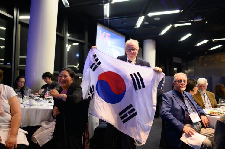 KF, 미국 평화봉사단에 KF마스크 5만장 전달