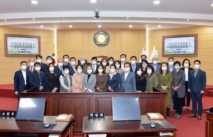 광양시의회, 제8대 후반기 의정자문위원 위촉